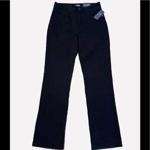 NYDJ Lift Tuck Technology Black Bootcut Jeans